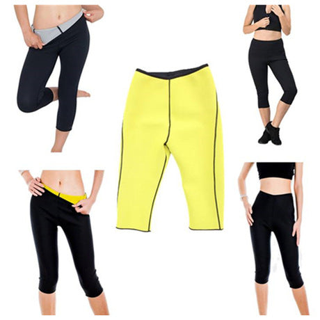 Image of HIGH-GRADE High Waist Postpartum Corset Pants | Stretch Yoga Pants