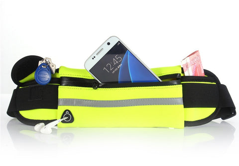 Image of Slim Sports Waist Bag For Men And Women | Gym Waist Pouch
