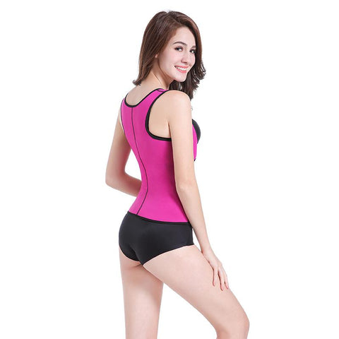 Image of New Ultra-Thin Body Shaping Vest With Adjustable Bust Support Hooks - Ginax Store