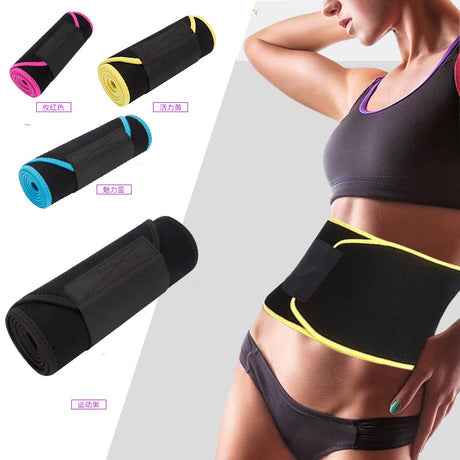 Image of New And High-Grade Velcro Fitness Sweat Belt | Waist Trainer Sweat Belt
