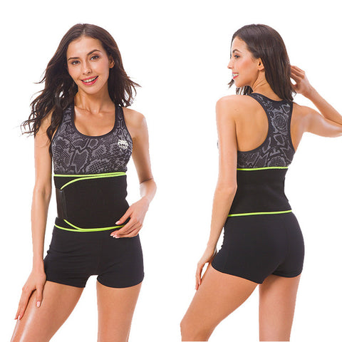 New And High-Grade Velcro Fitness Sweat Belt | Waist Trainer Sweat Belt