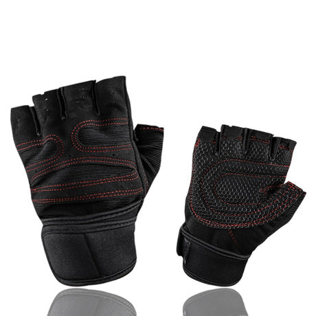 Image of New Breathable Sports Weight Lifting Gloves | Half Finger Gloves