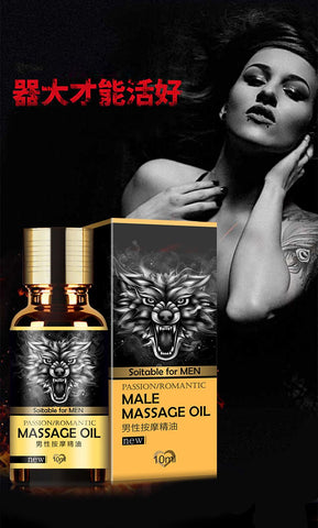 Image of Penis Enlargement And Romantic Massage Oil - Ginax Store
