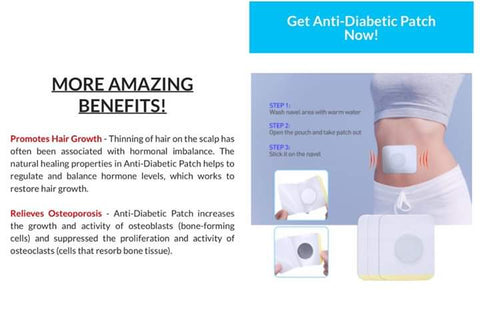 SUMIFON Diabetic Control Patch | Sugar Balance Patch
