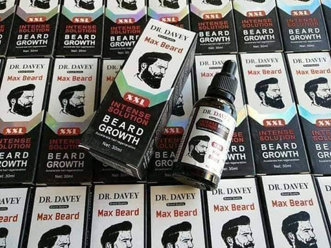 Image of DR. DAVEY Intense Solution Beard Growth Oil | Max Beard Growth Serum
