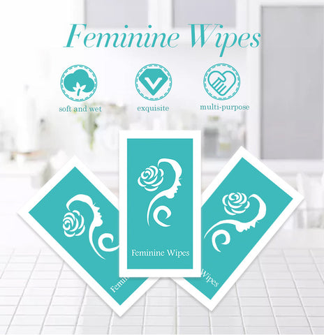 Image of Feminine Wipes | Antibacterial Vaginal Wipes
