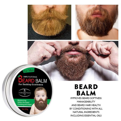 Image of AICHUN BEAUTY Beard Growth Balm | Beard Care Balm