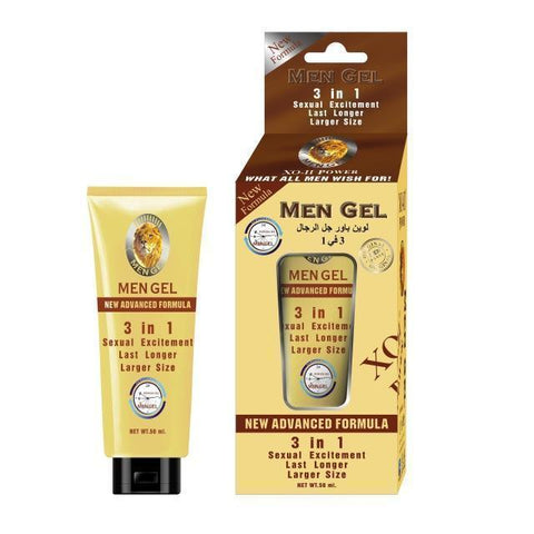 Image of 3-in-1 Men Power Gel For Premature Ejaculation, Sexual Excitement And Penis Enlargement