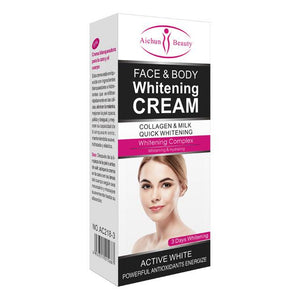 AICHUN BEAUTY Body and Face Whitening Cream | Collagen and Milk Whitening Cream