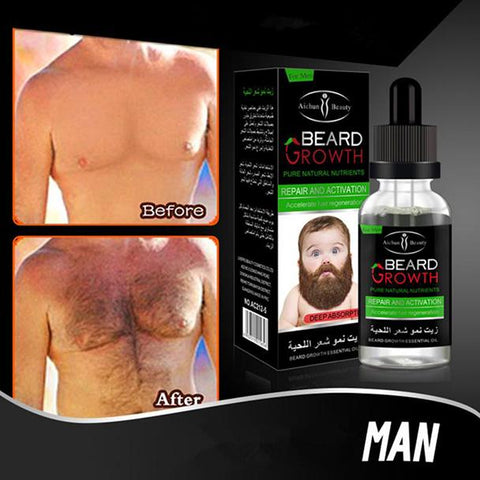 Image of AICHUN BEAUTY Beard Growth Essential Oil | Beard Growth Serum
