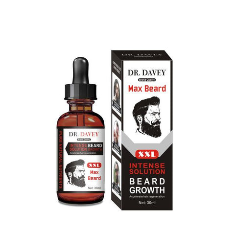 DR.DAVEY Intense Solution Beard Growth Oil | Max Beard Growth Serum