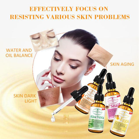 Image of AICHUN BEAUTY Carrot Face Serum | With Vitamin E And Collagen Extratcs