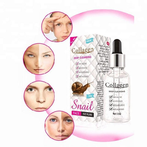 Image of PEI MEI Anti-Aging, Anti-Acne And Whitening Collagen + Snail Face Serum