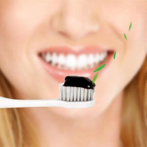 Organic Activated Coconut Charcoal Toothpaste for Teeth Whitening