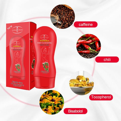AICHUN BEAUTY Paprika Easy Slimming Hot Gel | Natural Fat Burning Gel