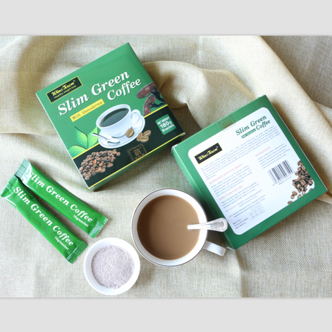 Image of Slim Green Coffee With Ganoderma | Weight Loss Green Coffee