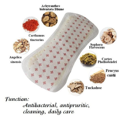 Image of FURUIZE Herbal Pads | Anion Panty Liner | Herbal Sanitary Napkin