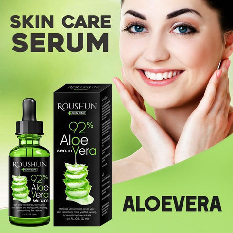 ROUSHUN Anti-Aging, Sunburn And Whitening Aloe Vera Serum | Natural Aloe Vera Facial Trearment