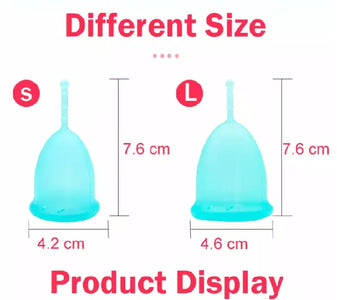 FDA Medical Grade Silicone Reusable Menstrual Cup | Menstruation Cup