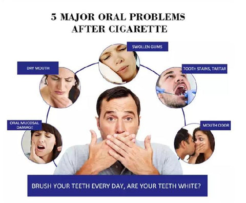 Image of DISAAR Smoke Stains Removal And Whitening Toothpaste | Smokers' Toothpaste