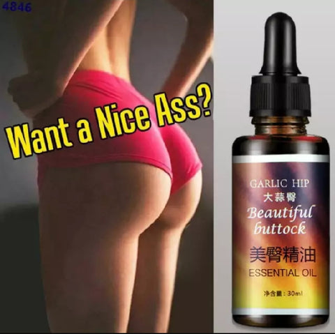 Buttocks Enhancement And Enlargement Massage Oil | Garlic Hip