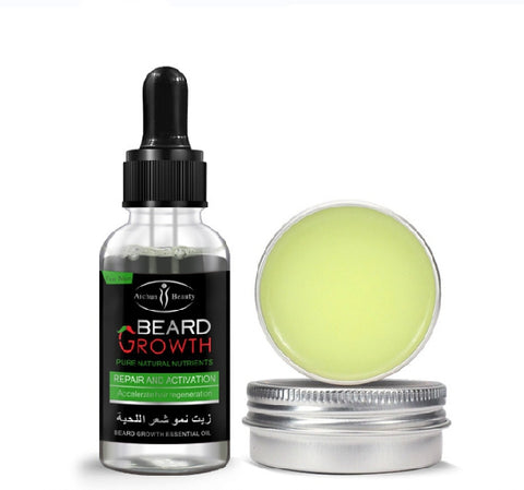 Image of AICHUN BEAUTY Beard Oil And Beard Balm | Bundle Deal