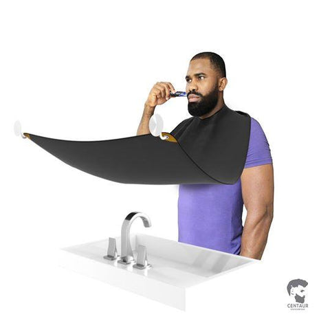 Image of Beard And Hair Shaving Apron | Hair Catcher Bib - Ginax Store