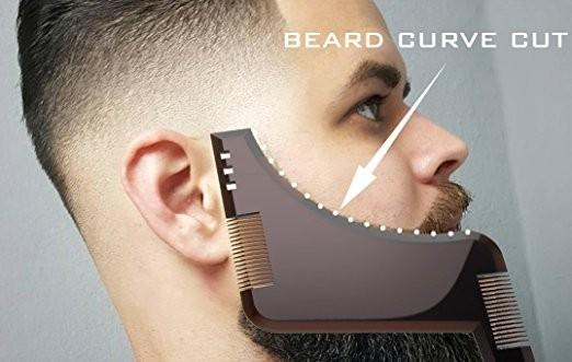Beard Shaping Template Plus Styling Comb - Ginax Store
