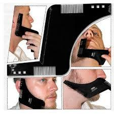 Image of Beard Shaping Template Plus Styling Comb - Ginax Store
