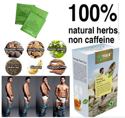 Image of Energy Tonic Tea For Man Power | Sex Vitality Tea | Fatigue Relief Tea