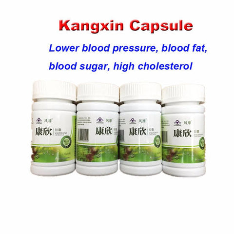 KangXin High Blood Pressure Capsule | High Blood Fat Capsule | High Blood Sugar Capsule | High Cholesterol Capsule