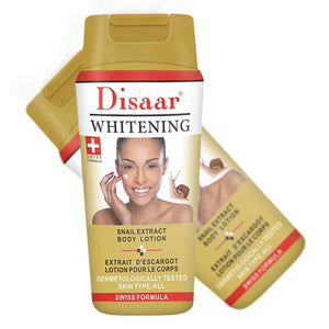 DISAAR Snail Extract Body Whitening Lotion