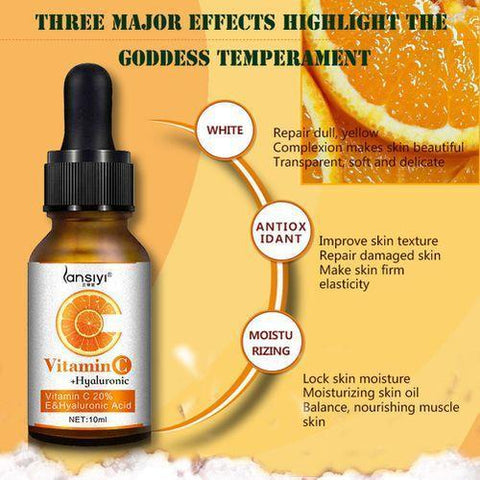 Moisturizing Vitamin C Skin Serum | Anti-Dark Spots And Anti-Aging Vitamin C Body Oil