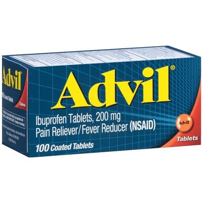 Advil® Pain Reliever and Fever Reducer Tablets - Ibuprofen (NSAID)
