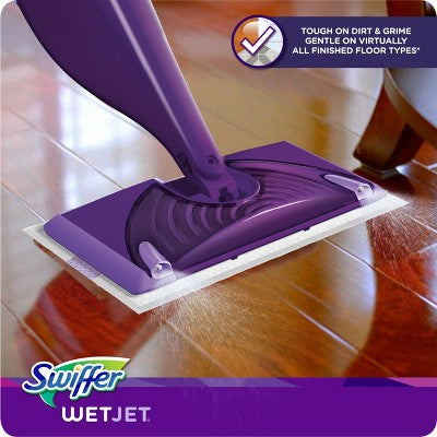 Swiffer Wet Jet Hardwood Floor Spray Mop Starter Kit