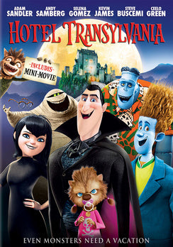 Hotel Transylvania (DVD) (VUDU Instawatch Included)