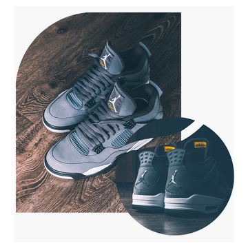 "AIR JORDAN IV ""COOL GREY"""