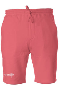 sneakfit pigment fleece shorts