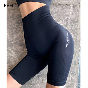Women High Waist Energy Seamless Yoga Shorts