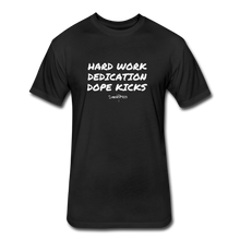 Hard Work! Basic Short Sleeve T-shirt - black