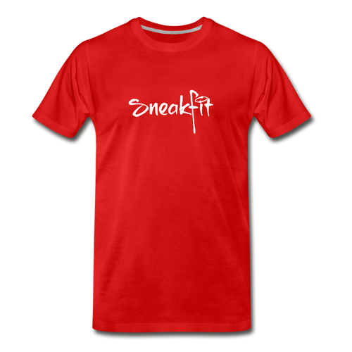 SneakFIt Basic Remix Premium T - red