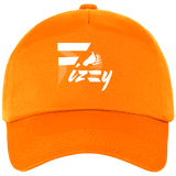 Casquette Fizzy demi-pension cheval orange