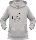 Sweat dessin cheval enfant la flaque d'eau ash