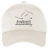 Casquette equitation citation Baucher naturel