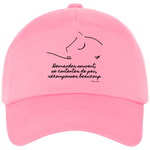 Casquette equitation citation Baucher rose