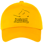 Casquette equitation citation Baucher gold