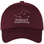 Casquette equitation citation Baucher bordeau