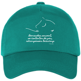 Casquette equitation citation Baucher emerald