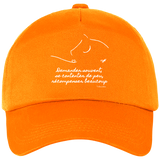 Casquette equitation citation Baucher orange
