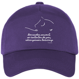 Casquette equitation citation Baucher violet